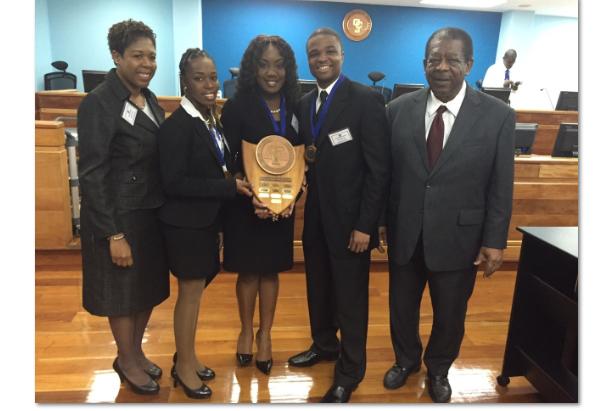 PRESS RELEASE- THE EUGENE DUPUCH LAW SCHOOL IS 2015 CCJ MOOTING CHAMPION