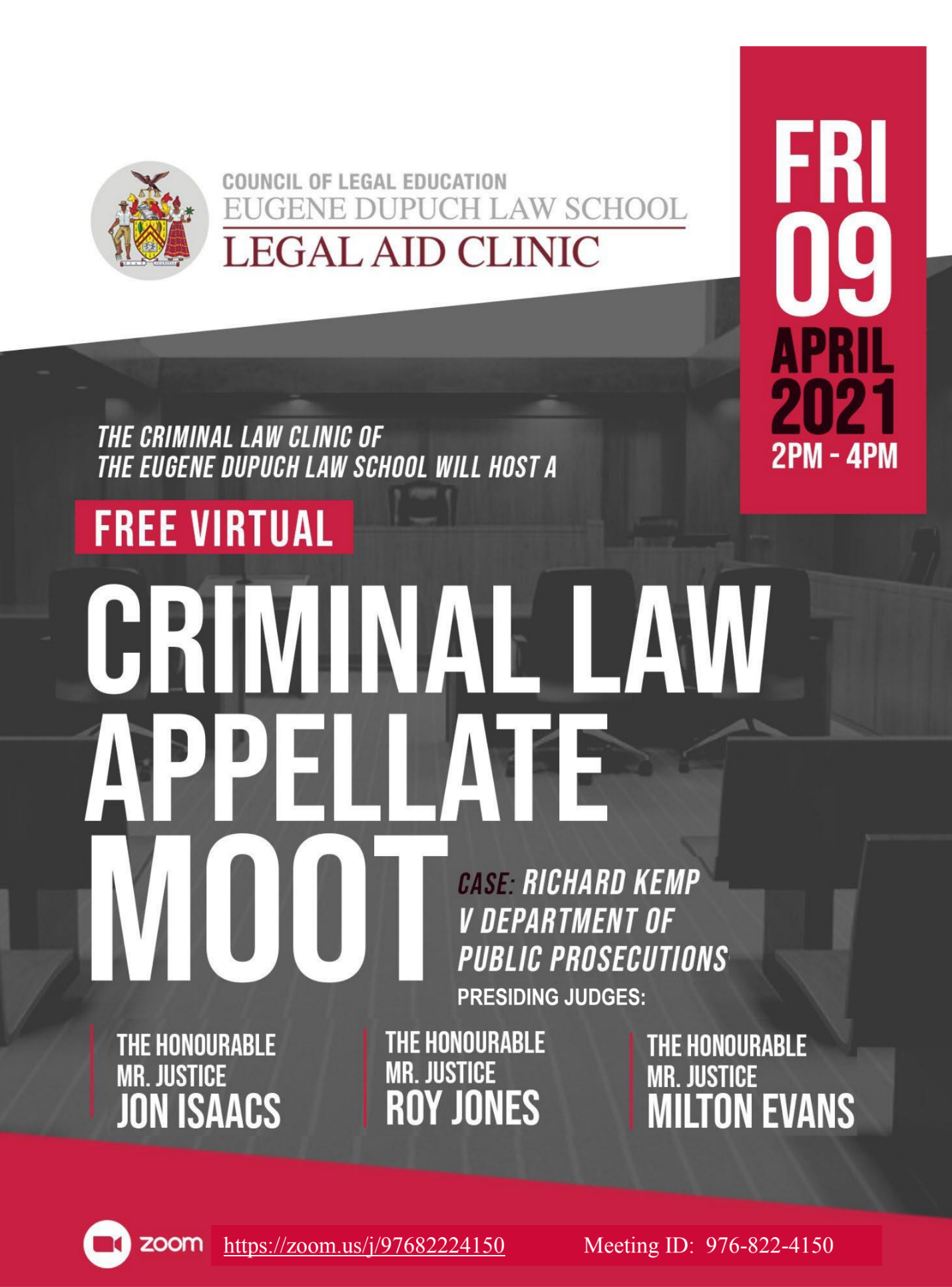 Criminal Law Appellate Moot