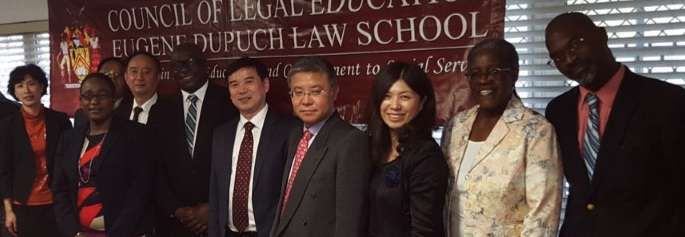 CHINESE LAW DELEGATION VISITS EDLS